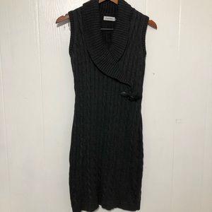 CALVIN KLEIN Sweater Dress size S